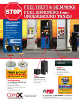 New from CompX Security Products - Gas Station Security program